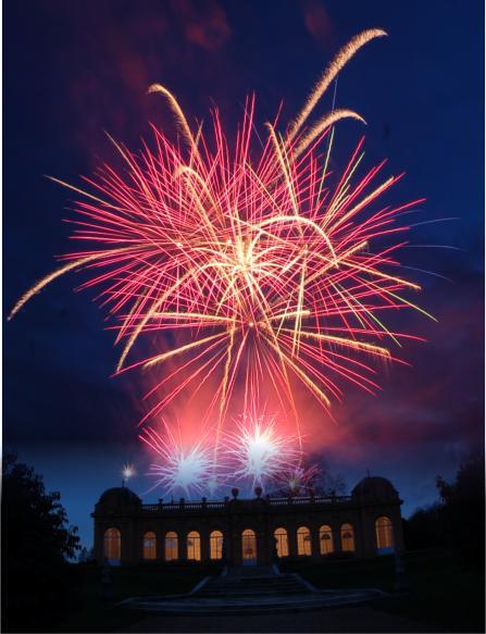 Wrest-Park-wedding-fireworks