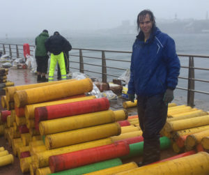 FF's Dan Roxx bedraggled at the British Fireworks Championship