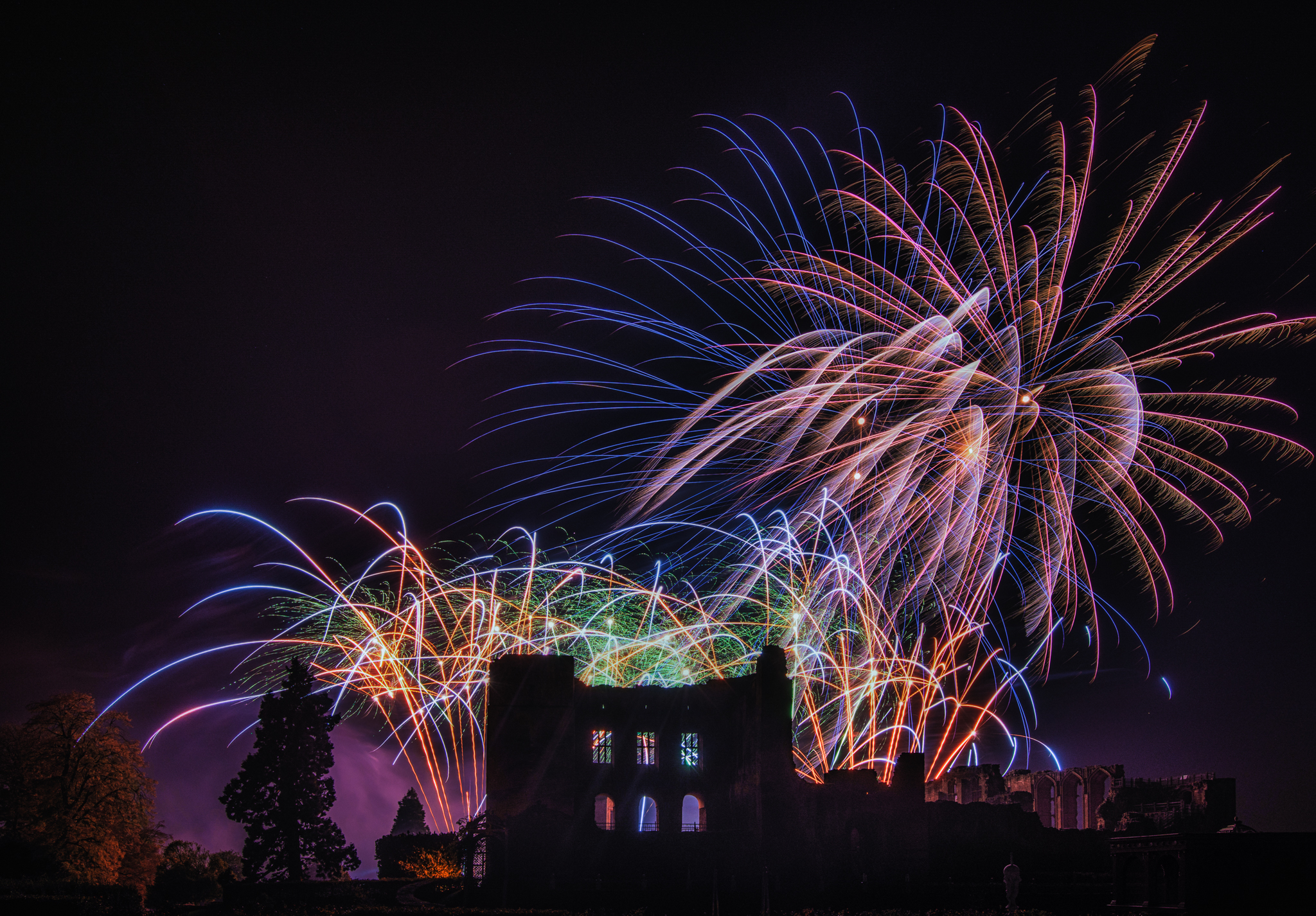 Professional Firework Displays | Kenilworth Castle