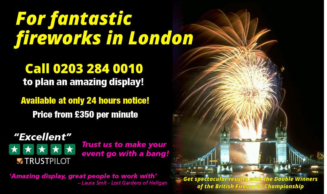 London-fireworks-company