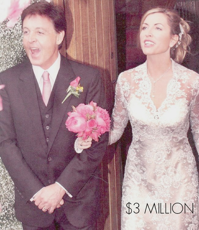 celebrity wedding Paul McCartney