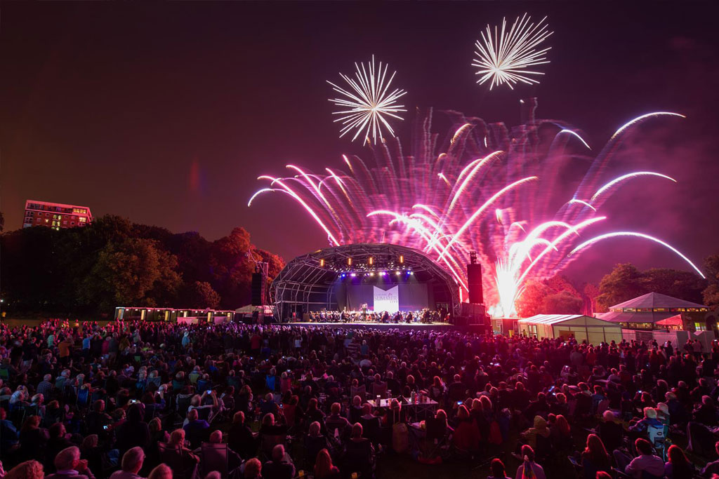 Hitting The Right Note At Firework Concerts